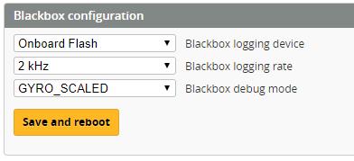 Blackbox Configuration